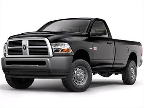 2012 Ram 2500 Regular Cab Pricing Ratings Reviews Kelley