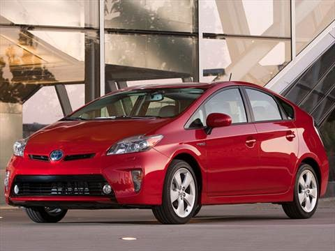 2012 Toyota Prius Four Hatchback 4D  photo