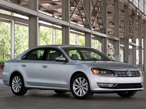 2012 Volkswagen Passat TDI SE Sedan 4D  photo