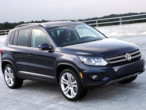 2012 Volkswagen Tiguan Pricing Ratings Amp Reviews