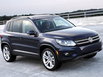 2012 volkswagen tiguan pricing ratings reviews kelley blue book. Black Bedroom Furniture Sets. Home Design Ideas