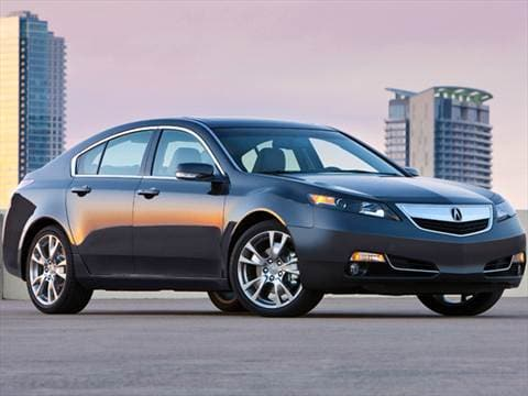 Acura TL Pricing Ratings Reviews Kelley Blue Book - Acura tl license plate frame