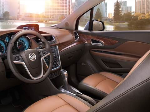 2013 buick encore Interior
