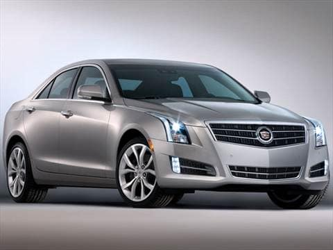 2013 cadillac ats pricing ratings reviews kelley blue book. Black Bedroom Furniture Sets. Home Design Ideas