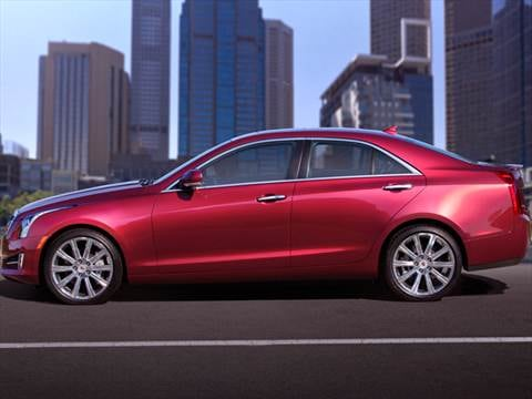 2013 Cadillac Ats 2 5l Luxury Sedan 4d Pictures And Videos