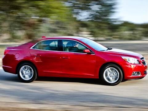 2013 Chevrolet Malibu Pricing Ratings Reviews Kelley Blue Book