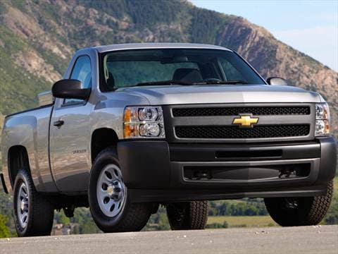 2013 Chevrolet Silverado 1500 Regular Cab Pricing Ratings