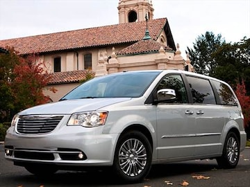 2013 chrysler town  country Exterior