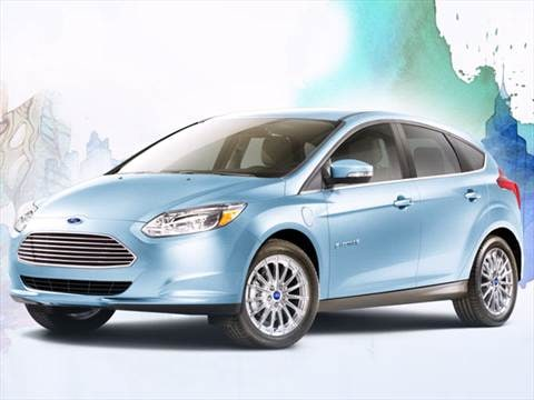 2013 Ford Focus Electric Hatchback 4D  photo
