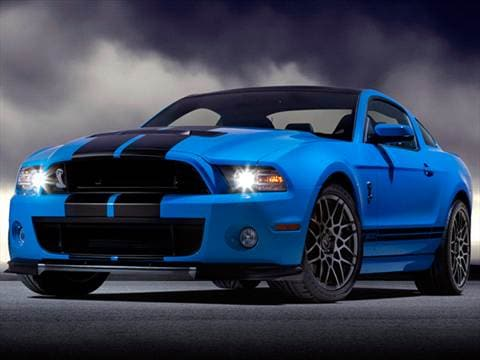 2013 Ford Mustang Shelby GT500 Coupe 2D  photo