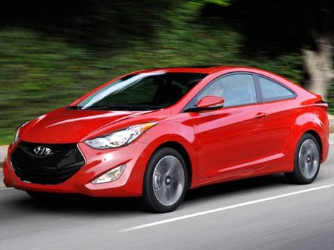 2013 Hyundai Elantra GS Coupe 2D  photo