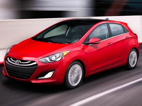 2013 Hyundai Elantra GT Hatchback 4D  photo