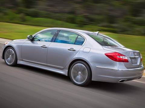 2013 Hyundai Genesis Pricing Ratings Amp Reviews Kelley