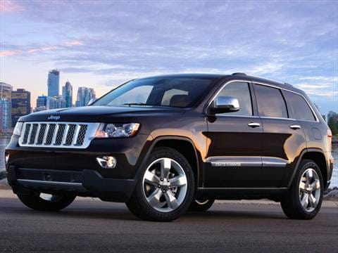 2013 Jeep Grand Cherokee. 19 MPG Combined