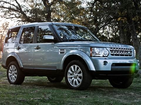 2013 Land Rover LR4 Sport Utility 4D  photo
