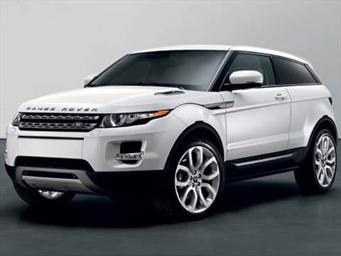 2013 Land Rover Range Rover Evoque Pure Plus Sport Utility 2D  photo