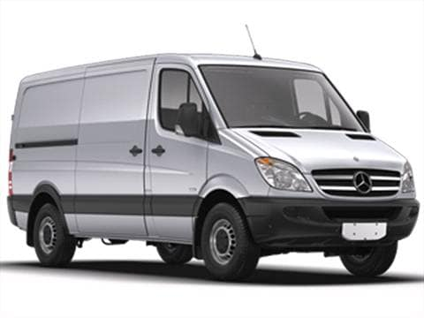 2013 mercedes benz sprinter 3500 cargo
