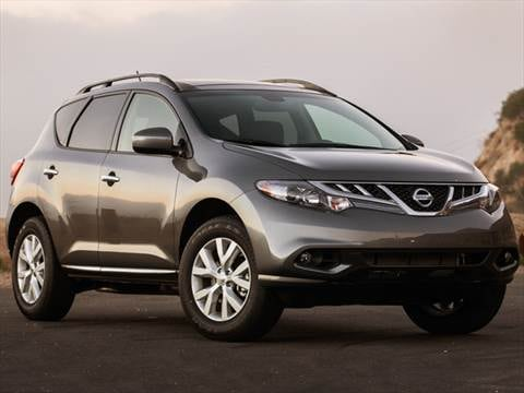 2013 Nissan Murano Pricing Ratings Reviews Kelley Blue Book