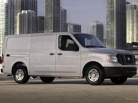 2013 Nissan NV1500 Cargo S Van 3D  photo