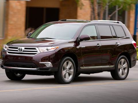 2013 Toyota Highlander. 19 MPG Combined