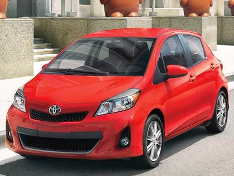 2013 toyota yaris pricing ratings reviews kelley. Black Bedroom Furniture Sets. Home Design Ideas
