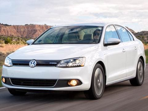 2013 Volkswagen Jetta Hybrid Sedan 4D  photo