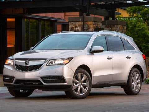 Acura MDX Pricing Ratings Reviews Kelley Blue Book - Acura car prices
