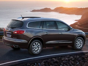 Buick Enclave Pricing Ratings Reviews Kelley Blue Book - Buick enclave invoice price