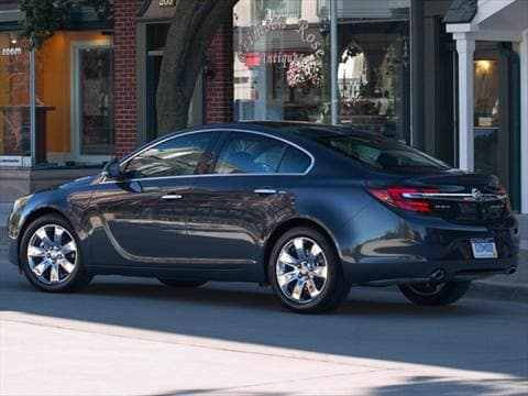 2014 buick regal Exterior