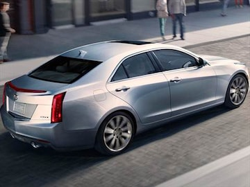 2014 cadillac ats pricing ratings reviews kelley blue book. Black Bedroom Furniture Sets. Home Design Ideas