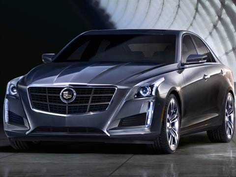 2014 Cadillac Cts Pricing Ratings Reviews Kelley Blue Book