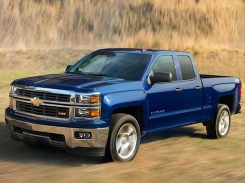 2014 chevrolet silverado 1500 double cab pricing ratings reviews kelley blue book. Black Bedroom Furniture Sets. Home Design Ideas