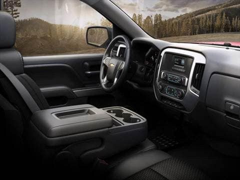2014 chevrolet silverado 1500 regular cab Interior