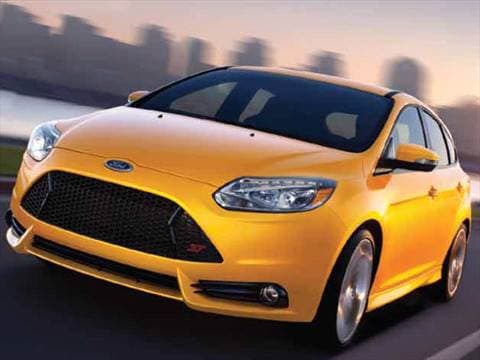 2014 Ford Focus St Pricing Ratings Reviews Kelley Blue Book