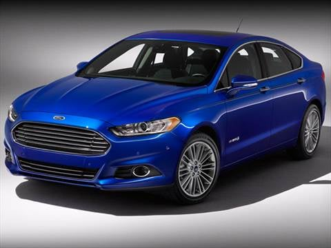 2017 Ford Fusion 41 Mpg Combined
