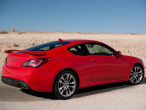 Beautiful ... 2014 Hyundai Genesis Coupe Exterior ...