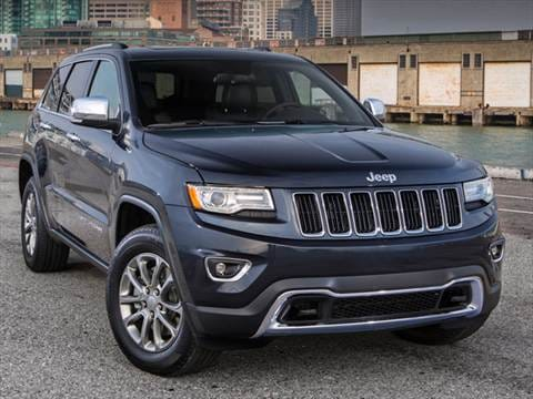 2014 Jeep Grand Cherokee. 20 MPG Combined