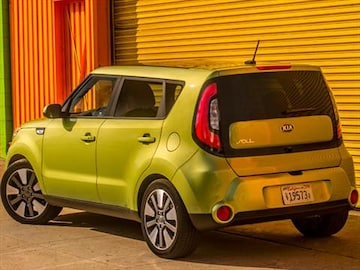 2014 kia soul pricing ratings reviews kelley blue book 2014 kia soul exterior sciox Choice Image