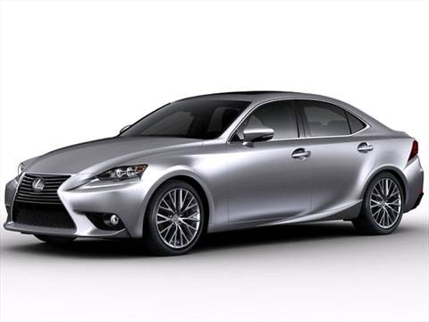 2014 lexus is Exterior