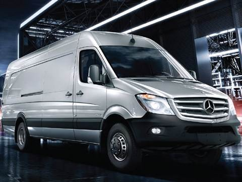 2017 Mercedes Benz Sprinter 3500 Cargo