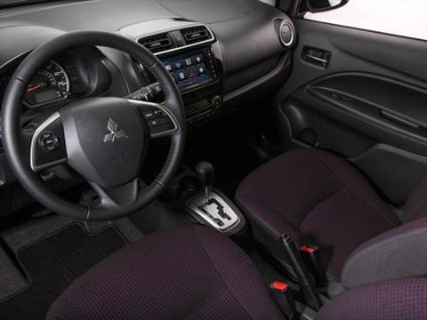 2014 mitsubishi mirage Interior