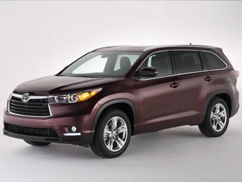 2014 Toyota Highlander. 20 MPG Combined