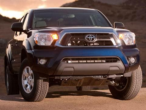 2014 Toyota Tacoma Double Cab Prerunner Pickup 4d 6 Ft Autos Post
