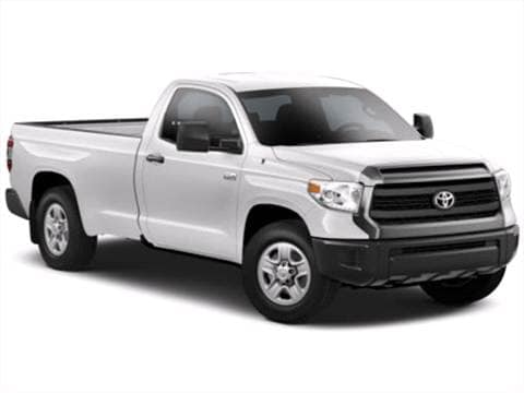 2014 Toyota Tundra Regular Cab. 15 MPG Combined