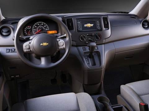 2015 chevrolet city express Interior