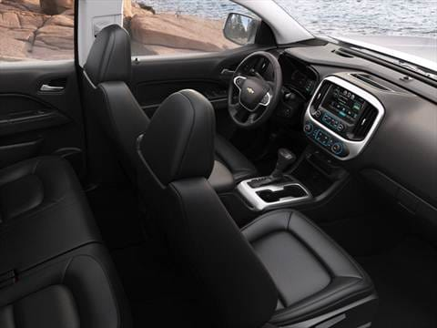2015 chevrolet colorado crew cab Interior