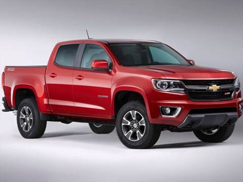 2017 Chevrolet Colorado Crew Cab 20 Mpg Combined