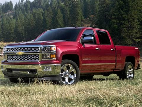 2015 Chevrolet Silverado 1500 Double Cab >> 2015 Chevrolet Silverado 1500 Crew Cab Pricing Ratings Reviews