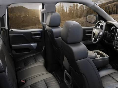 ... 2015 Chevrolet Silverado 1500 Double Cab Interior ...