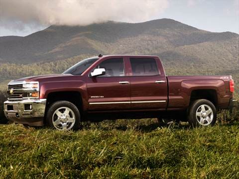 2015 Chevrolet Silverado 2500 HD Crew Cab | Pricing ...